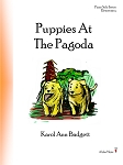 Puppies At The Pagoda - By Karol Ann Badgett: Piano Solo Elementary Sheet Music
